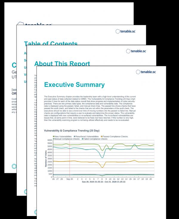 CMMC Operations Report Screenshot