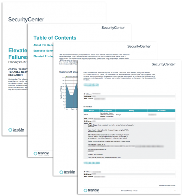 SecurityCenter Report Templates - Page 13