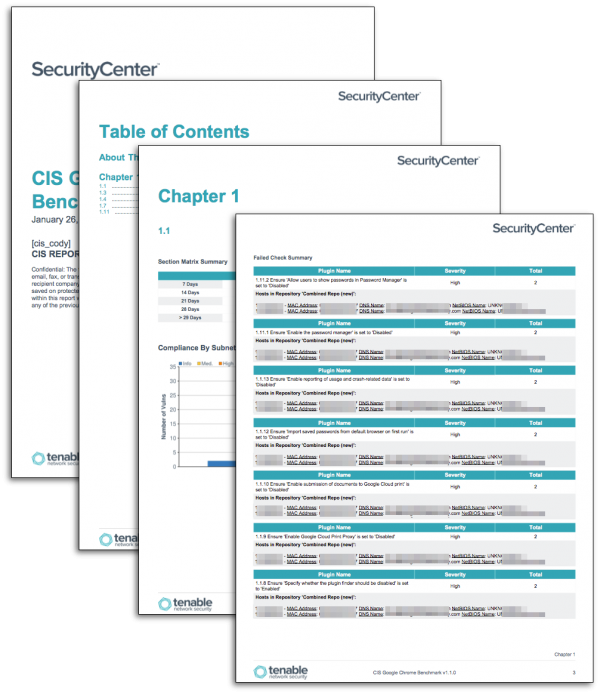 CIS Desktop Application Compliance Reports