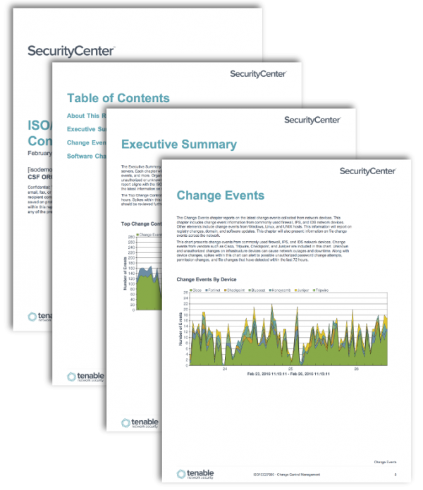 ISO Change Control Management Report