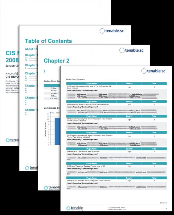 CIS Relational Database System Benchmarks Screenshot