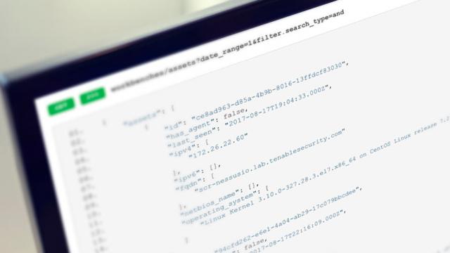 Intro to the Tenable io API - Blog | Tenable®